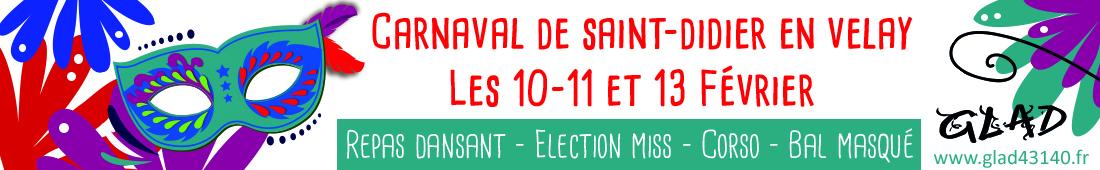 Carnaval Saint-Didier 2018