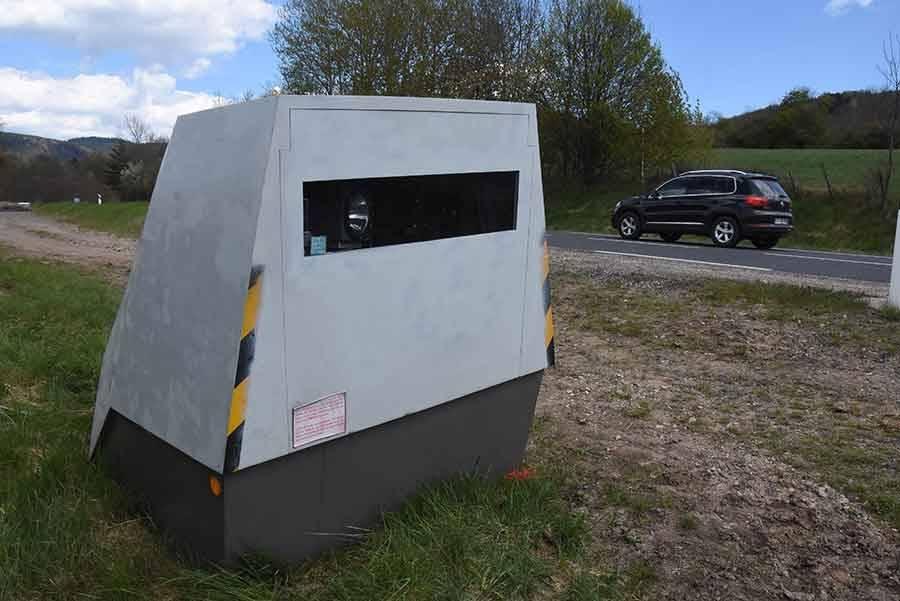 Le radar mobile de la RN88 déplacé à Saint-Hostien