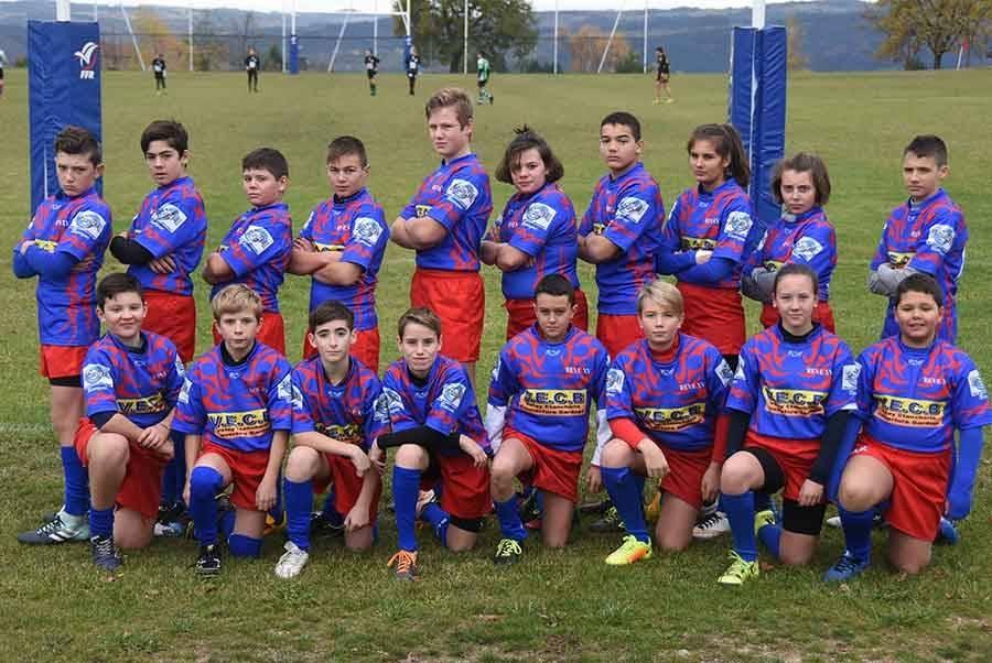Les jeunes du REVE XV découvrent le rugby à quinze