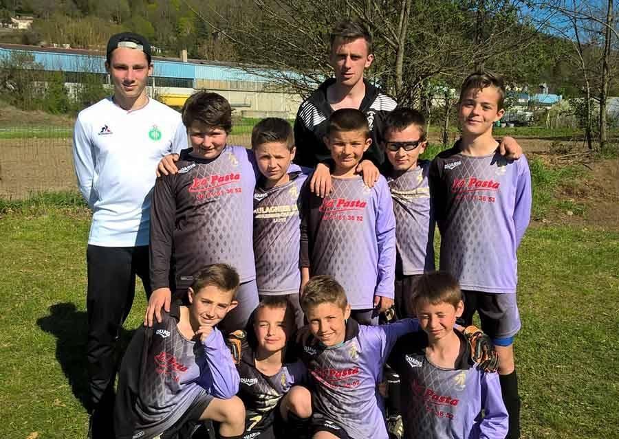 Foot : les U11 de Grazac-Lapte vainqueurs à la Brives Cup