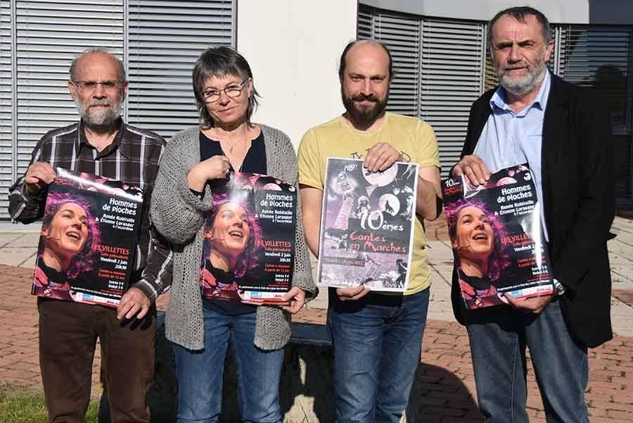 L'événement est porté par le collectif Konsl'Diz et la communauté de communes Marches du Velay-Rochebaron