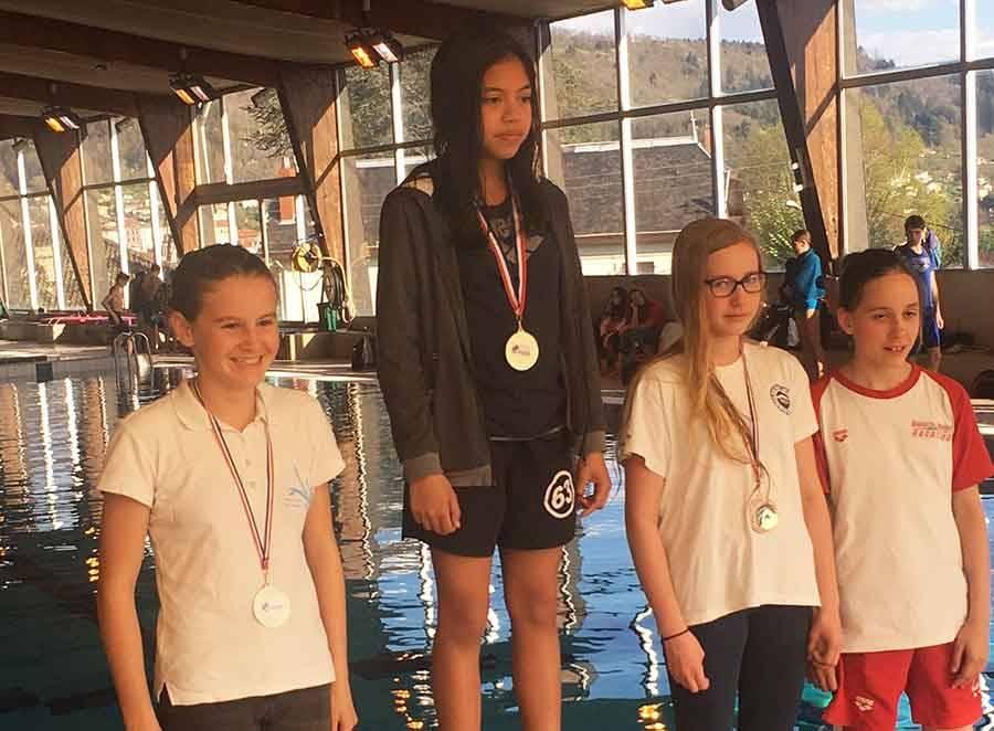 Natation : deux podiums pour Laurine Roupie à Thiers