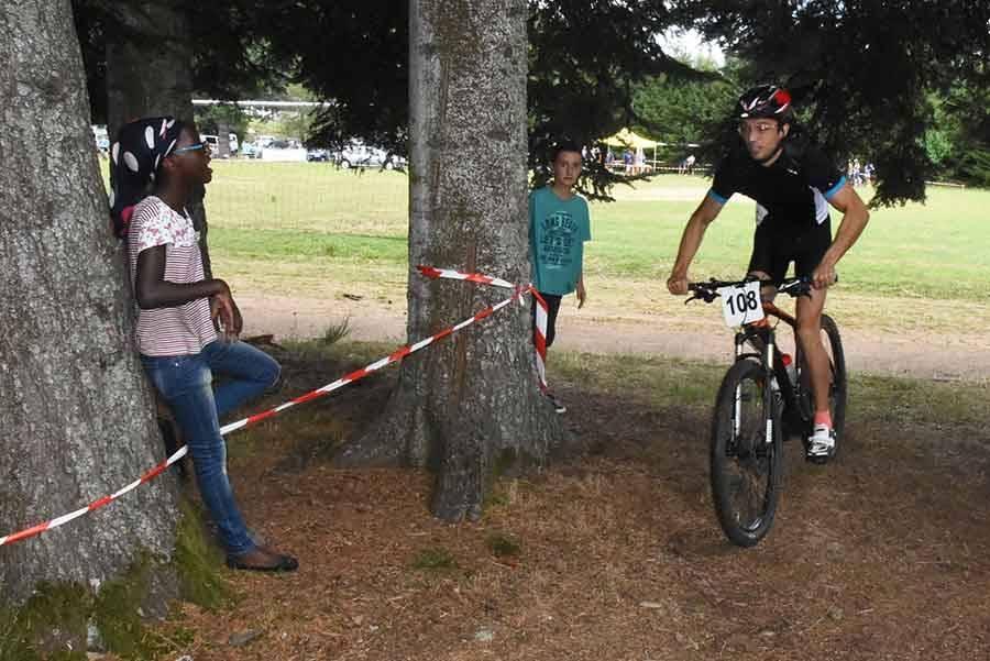Ronde cévenole VTT : Félix Delolme comme chez lui au Chambon-sur-Lignon