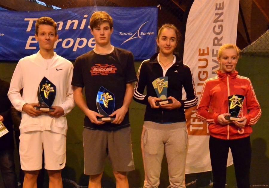 Tennis : un Serbe et une Française titrés au Chambon-sur-Lignon