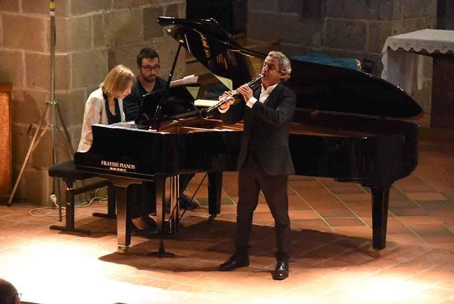 Musiques en Vivarais-Lignon : Pascal Moraguès et Claire Désert, deux solistes de haut vol à Tence