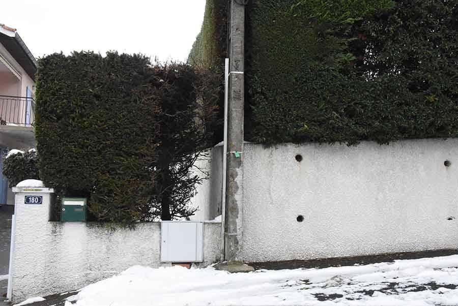 Yssingeaux : départ de feu sur un poteau électrique