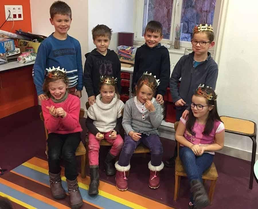 Tence : des têtes couronnées à l'Ensemble scolaire Saint-Martin
