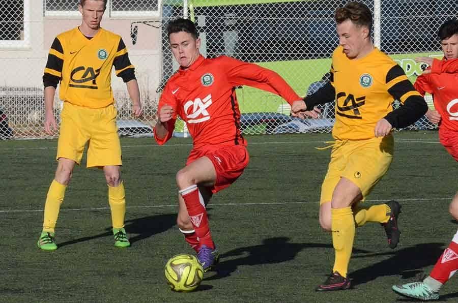 Lucas Bouilhol a inscrit les deux buts.