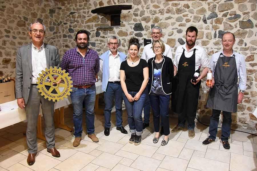 Une soirée dégustation de vin pour la bonne cause avec le Rotary Club