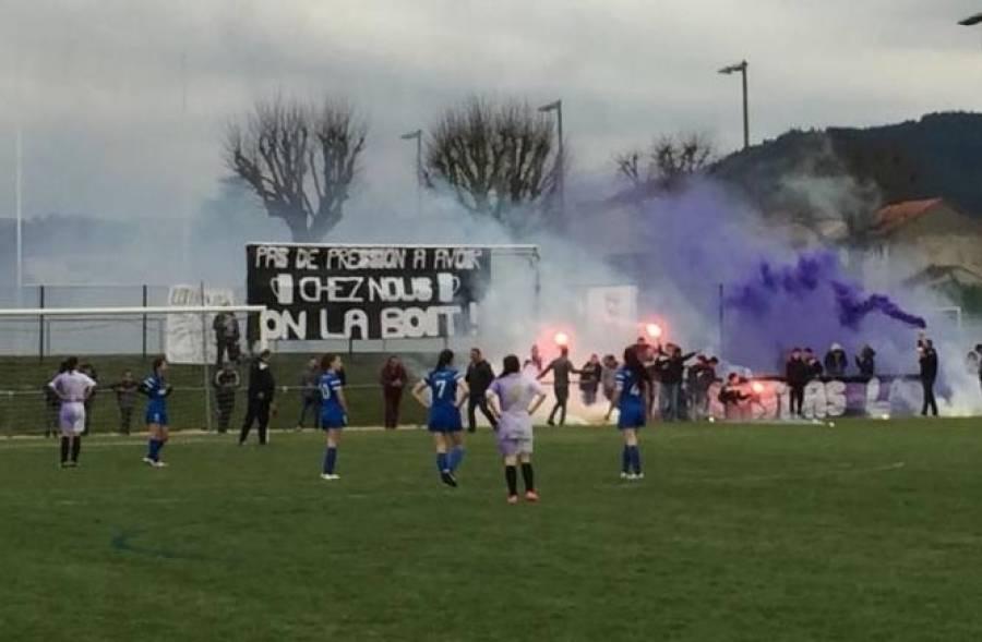 Les footballeuses de Grazac-Lapte en finale de la coupe de la Haute-Loire à 8