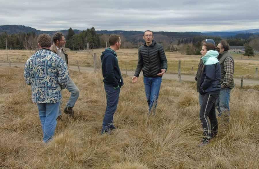 Le Mazet-Saint-Voy : des agriculteurs s'intéressent au pâturage