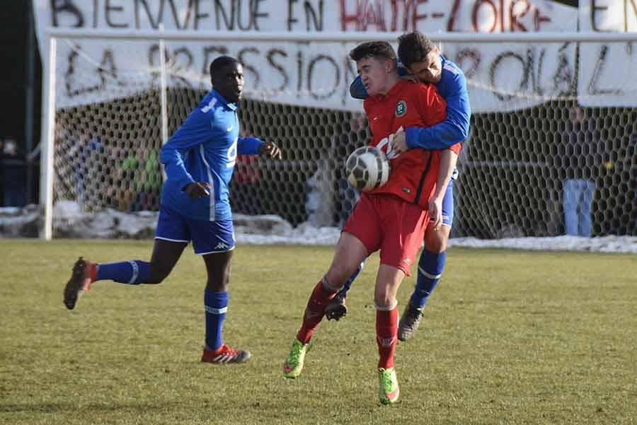 Revivez le match Monistrol-Bastia en photos et vidéo