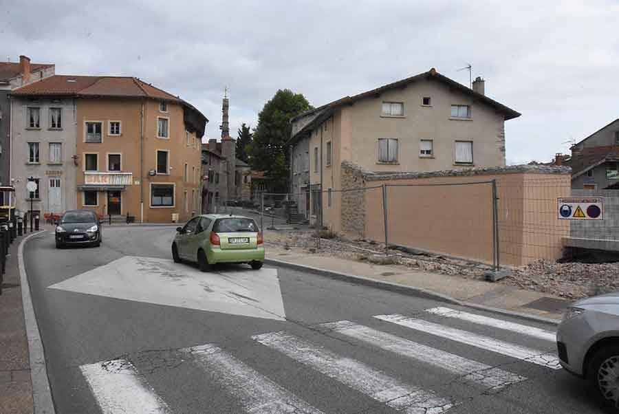 Beauzac : les travaux reprennent cette semaine dans la traversée du bourg