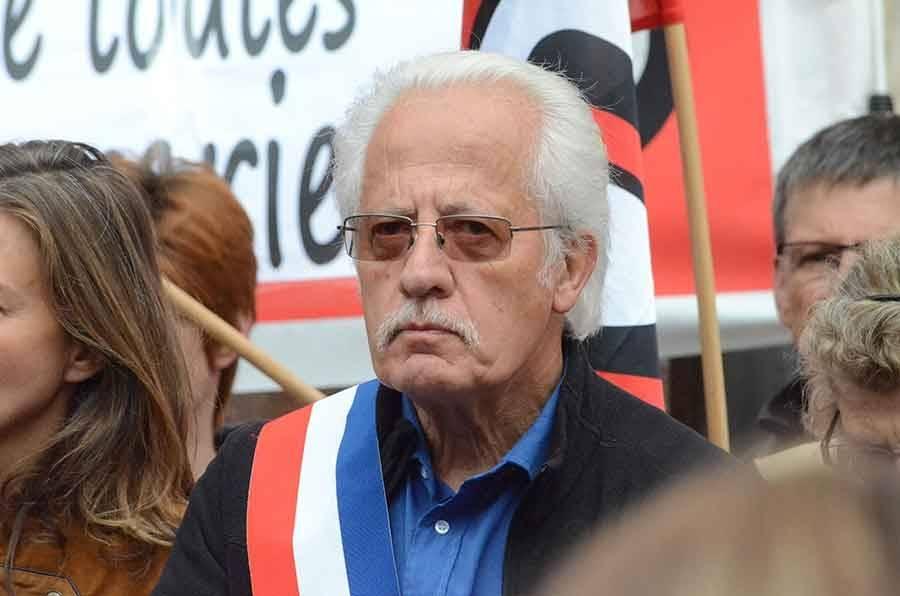 Pierre Gentes, maire de Laussonne et président des maires ruraux de Haute-Loire.