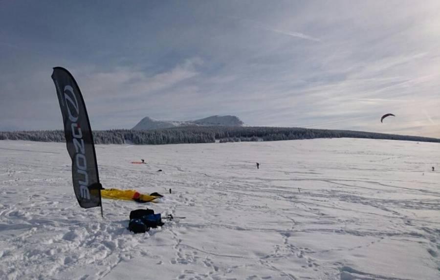 Snowkite : un rassemblement organisé ce week-end aux Estables