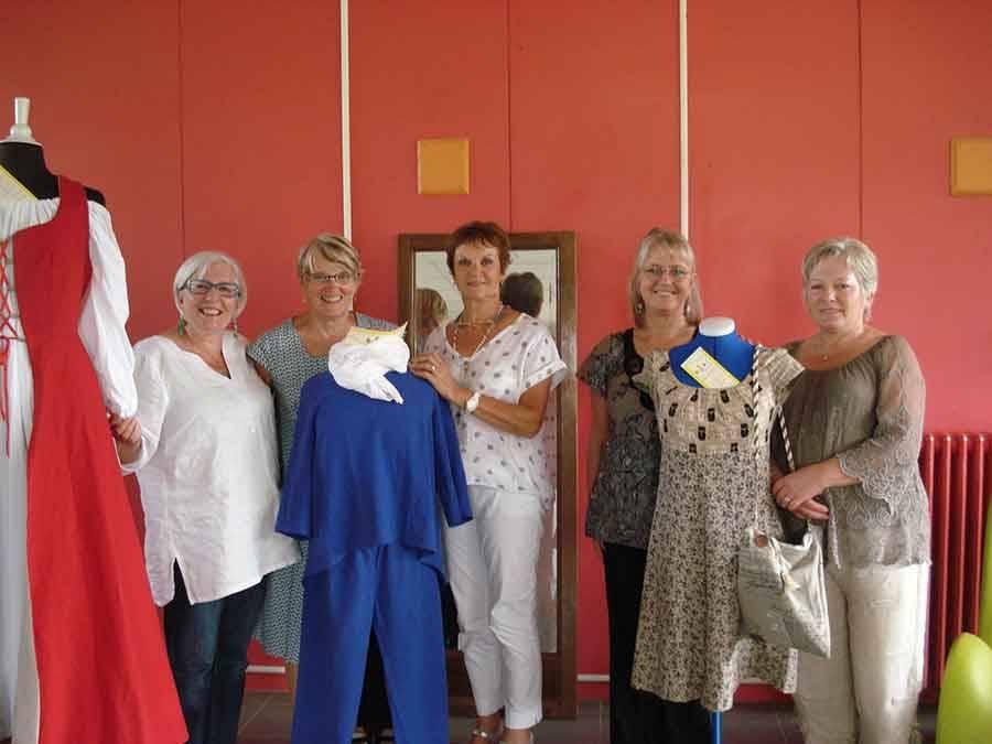 Saint-Vincent : une nouvelle animatrice pour l'atelier couture de l'Emblavez