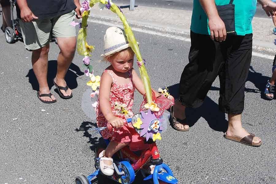Grazac : un charmant défilé costumé à retrouver en photos