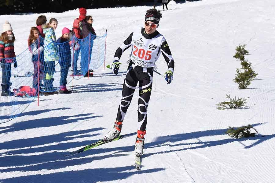 Ski nordique : les photos du 34e Marathon du Mézenc