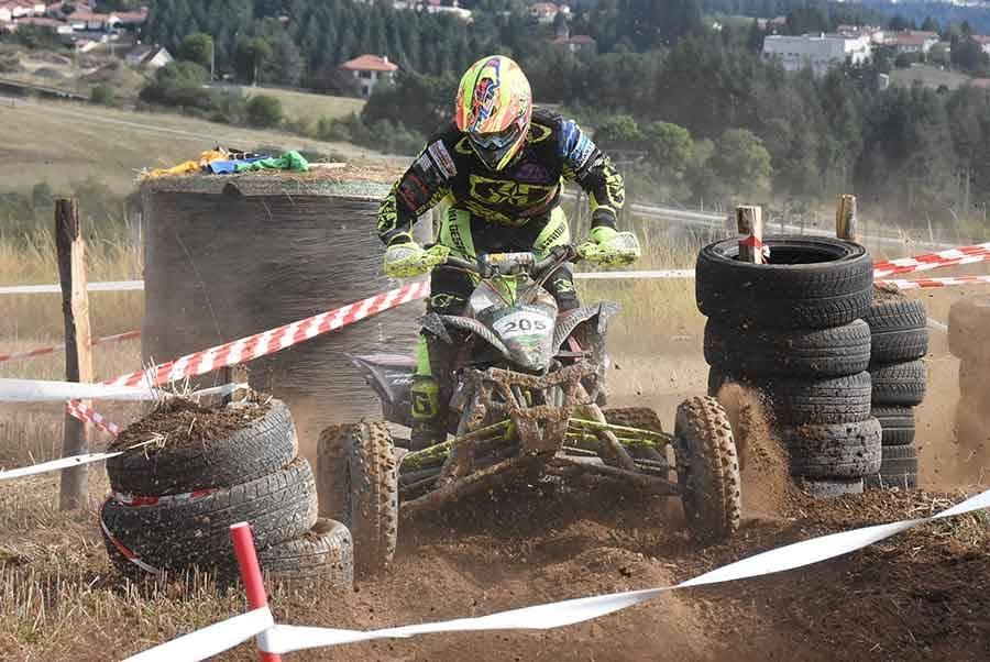 Alexandre Julien, vainqueur en quad