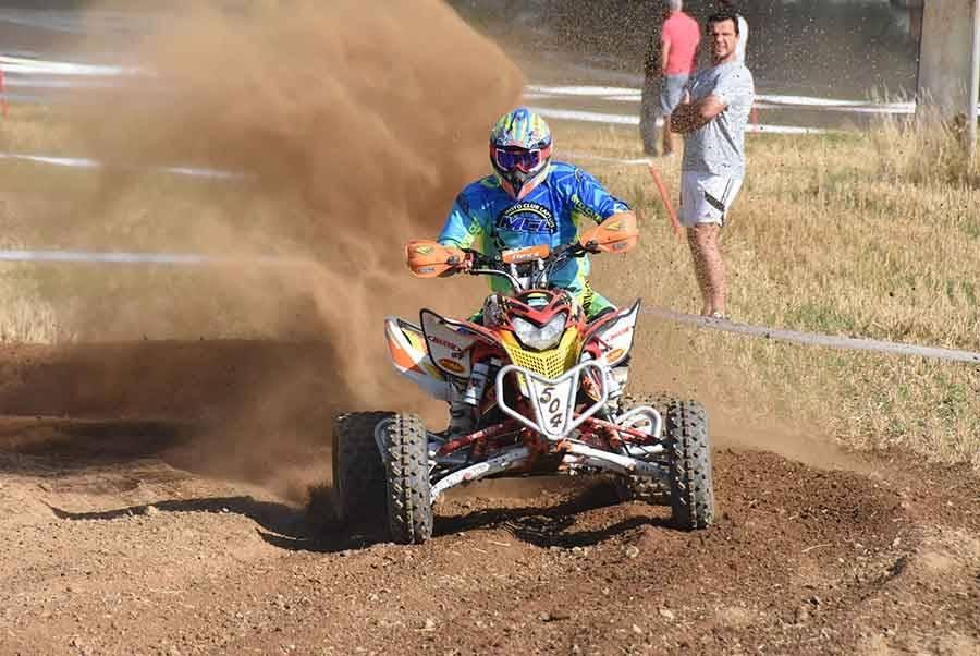 Yannick Ouillon, 3e en quad