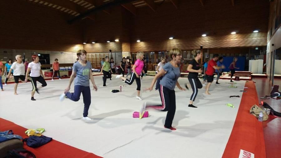 Les cours de fitness adultes ont repris à l'Association gymnique yssingelaise