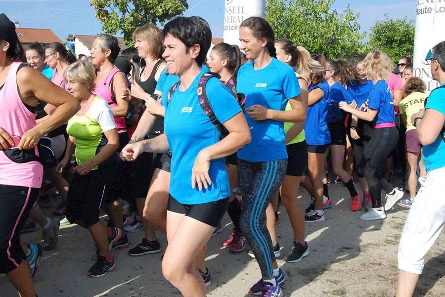 Carole Montillet sera la marraine de la Course des filles le 10 septembre à Brives