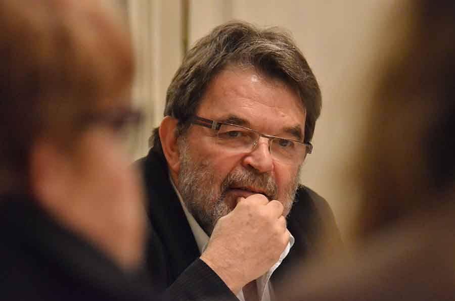 Bernard Gallot, maire d'Yssingeaux et président de la communauté de communes des Sucs.