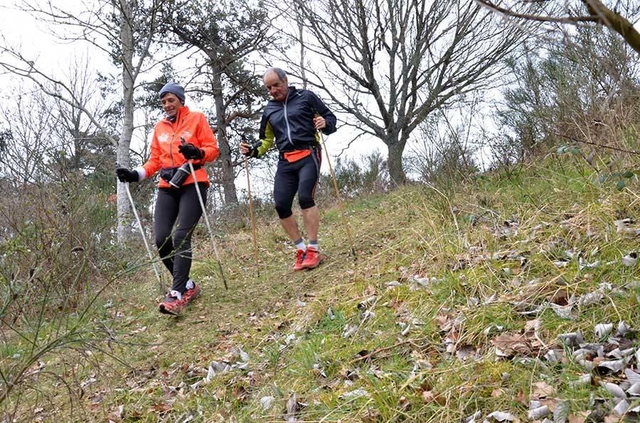 Marcheurs ou joggeurs, les participants ont apprécié les trois parcours.
