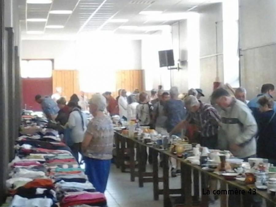 Retournac : une vente d'objets de la Croix-Rouge fin octobre