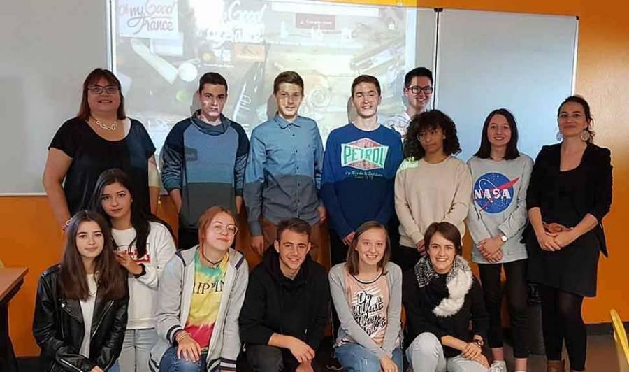 Les lycéens vont traduire des fiches en anglais pour Oh My Good France