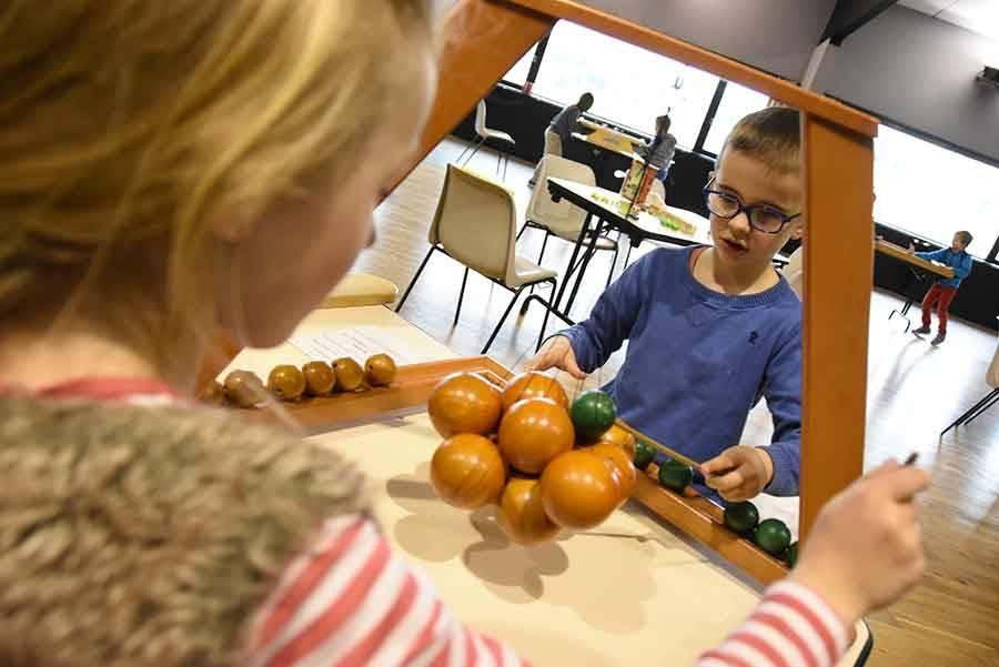 Ecole Jean-de-la-Fontaine : des jeux en bois plutôt que des jeux vidéo