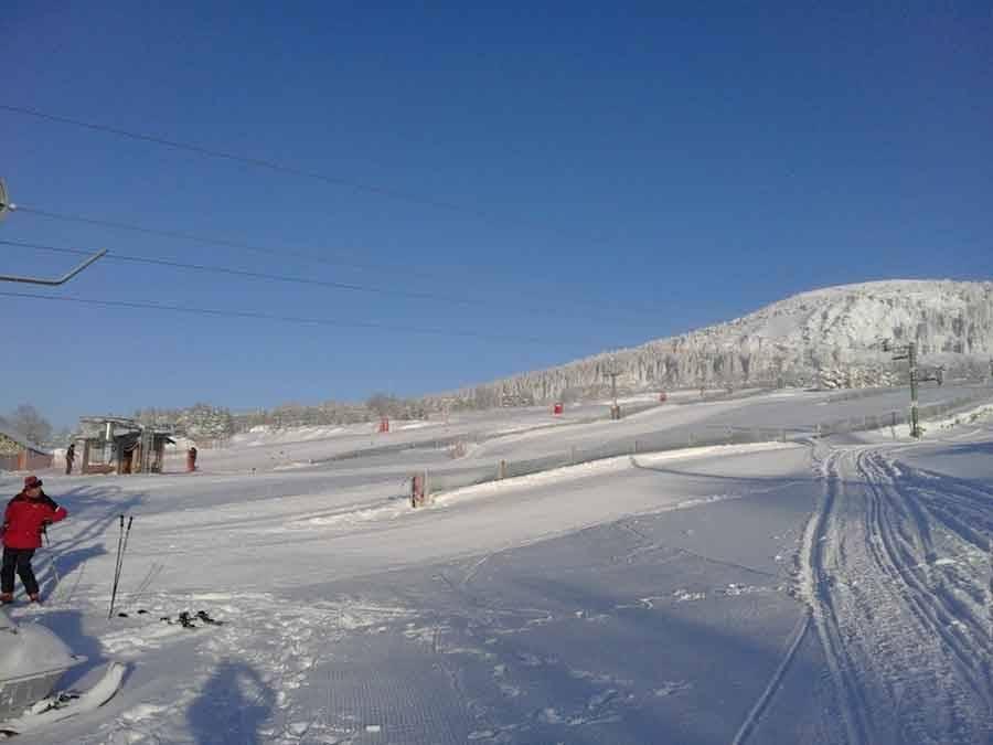 De la neige et du soleil à gogo au Mézenc et au Meygal