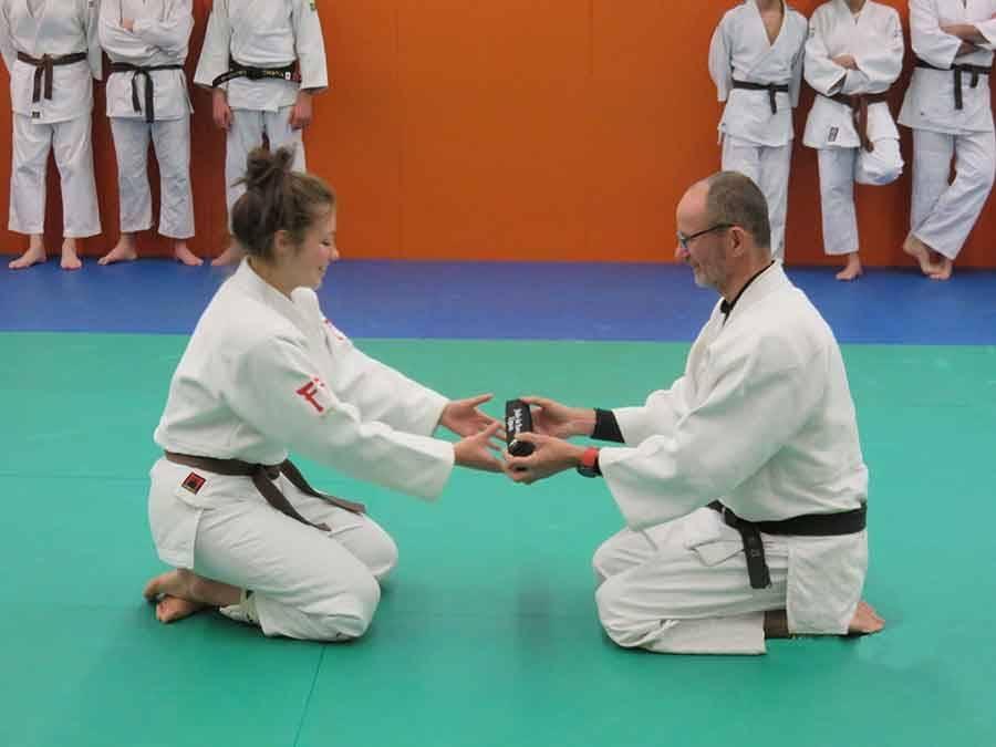 Une nouvelle ceinture noire au Judo Club du Haut-Lignon