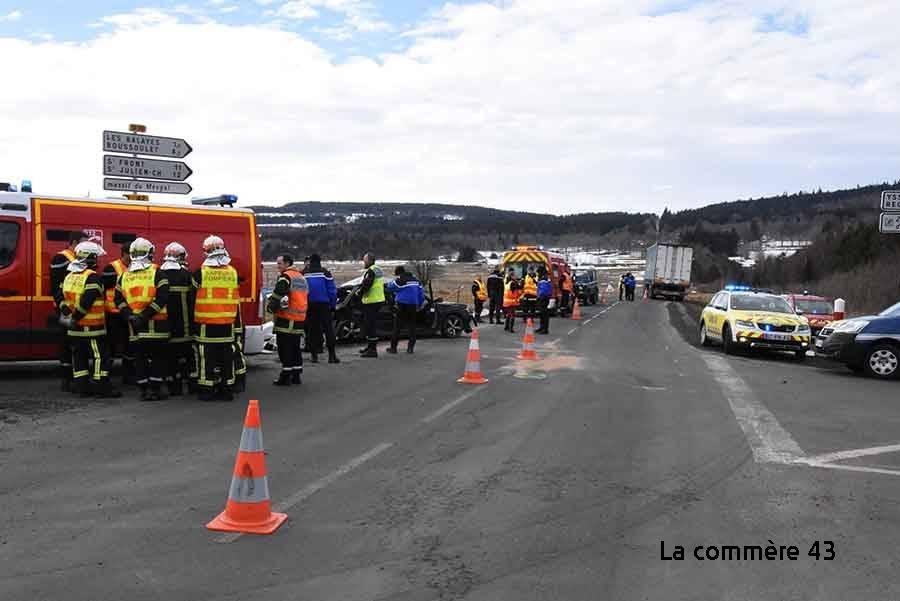 Araules : le maire réclame des aménagements au carrefour accidentogène