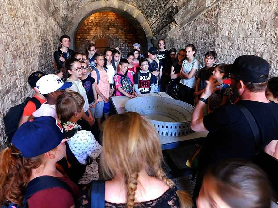 Tence : un séjour pédagogique pour les collégiens de 6e de La Lionchère