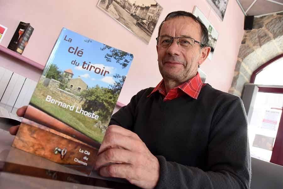 """Et de 12  pour Bernard Lhoste avec son roman """"La Clé du tiroir"""""""