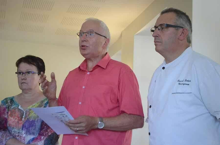 Josiane Mathias (ENSP), André Perrier et Pascal Liotier.