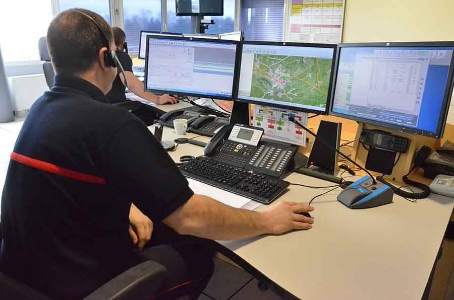 A 3 ans, il appelle les pompiers — Monistrol-sur-Loire