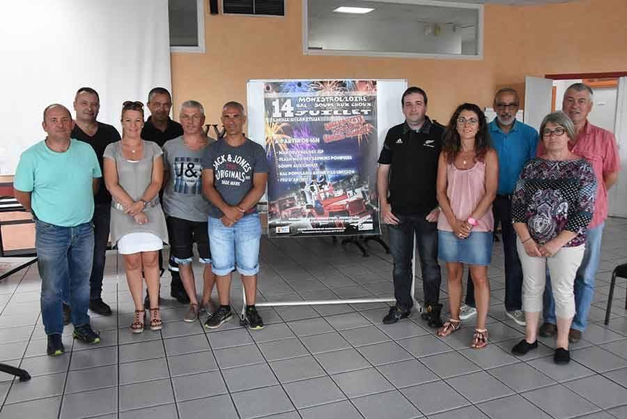 Monistrol-sur-Loire : les pompiers se joignent à la fête du 14 juillet