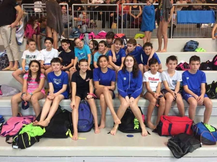 Natation : huit clubs à l'interclubs avenir et jeunes d'Auvergne au Puy-en-Velay