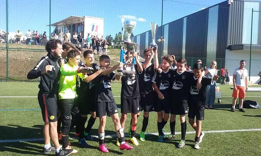 Mazet-Chambon : les footballeurs U15 remportent le tournoi de Saint-Agrève