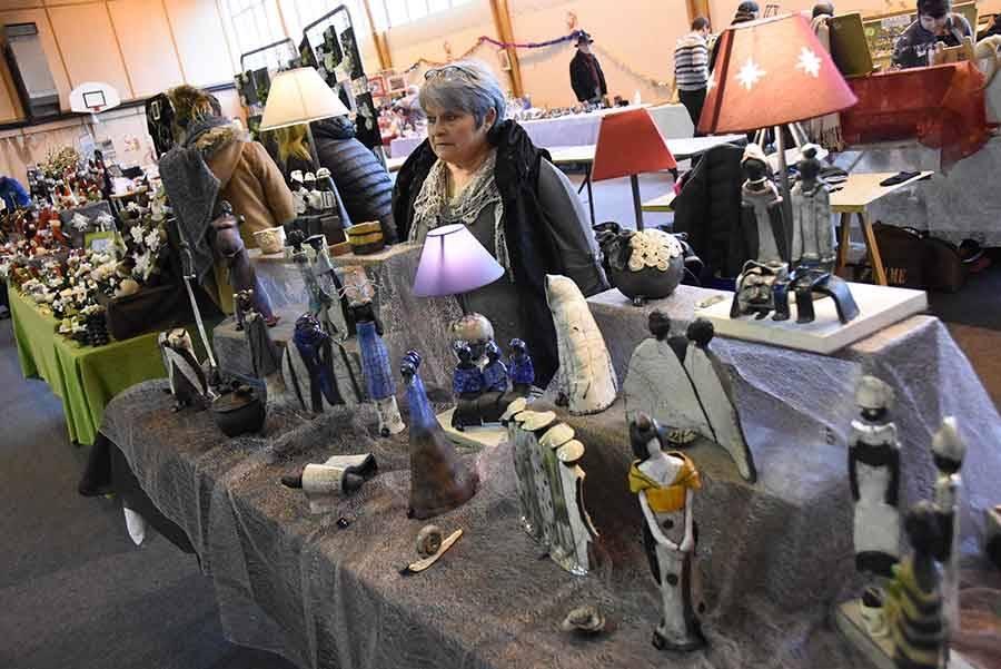 Le marché de Noël de Bas-en-Basset en images