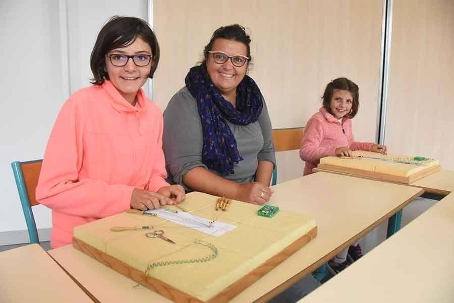 Marjorie, Magali et Amandine.