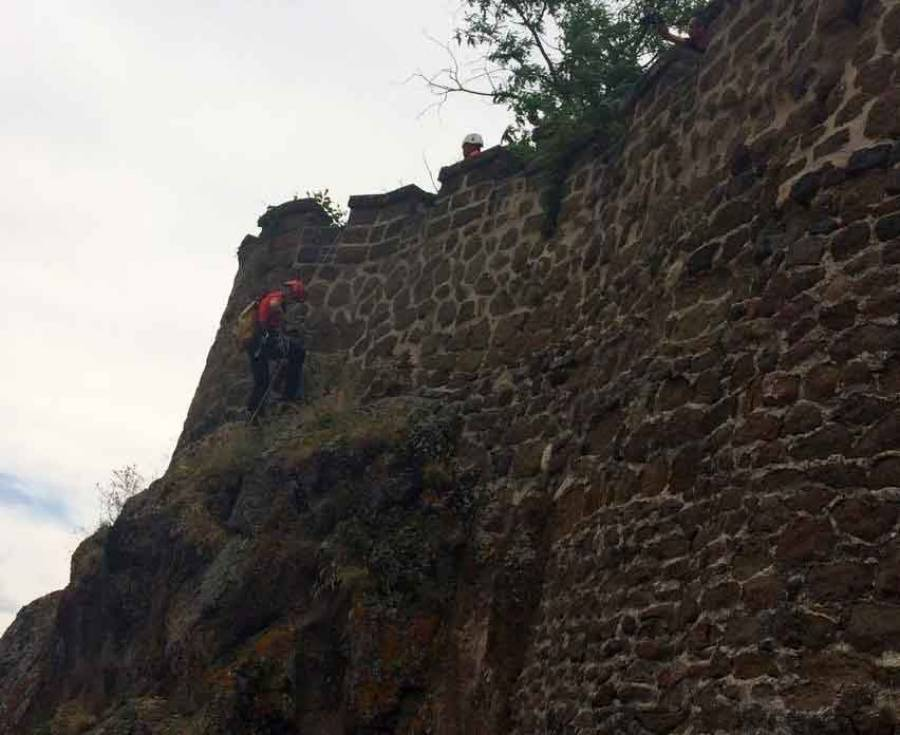 Espaly-Saint-Marcel : les grands moyens pour sauver le chaton au rocher Saint-Joseph (vidéo)