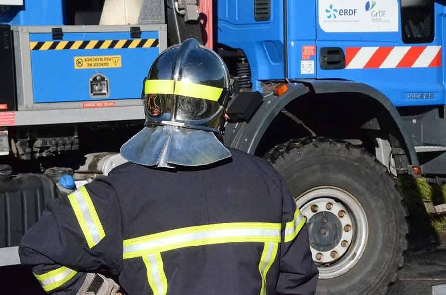 Saint-Germain-Laprade : un feu d'armoire électrique dans une entreprise