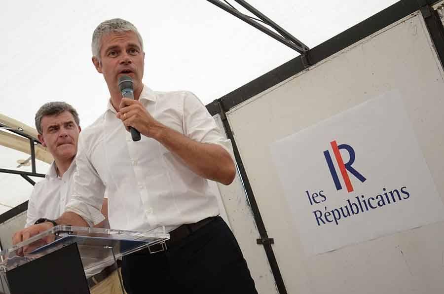 Rentrée politique musclée dimanche pour Laurent Wauquiez le président national des Républicains