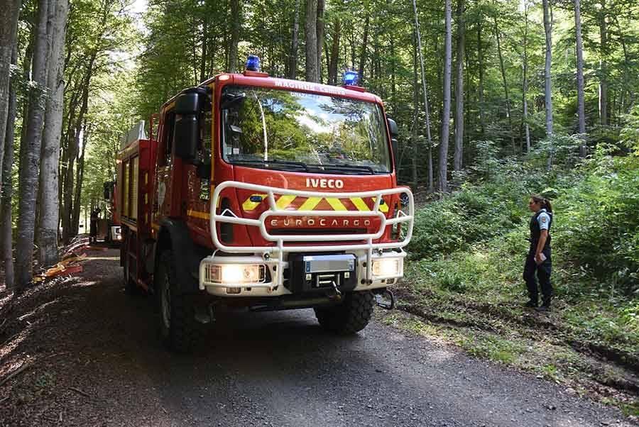 Yssingeaux : un nouveau départ de feu au sommet du suc d'Achon