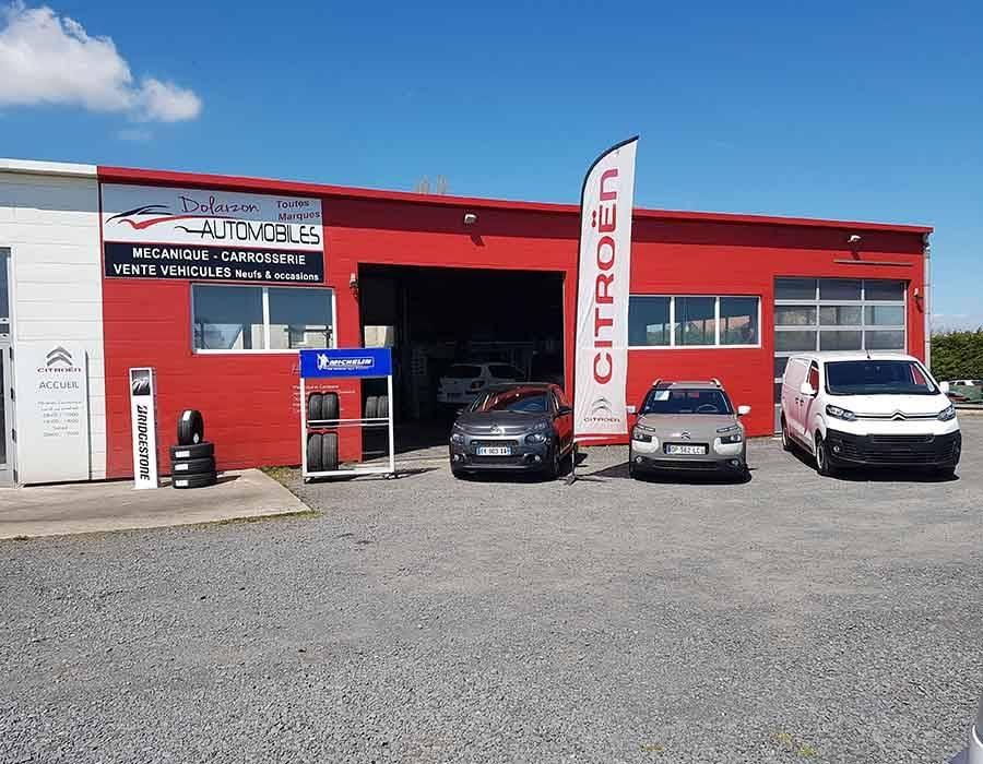 Dolaizon Automobiles est situé dans la zone artisanale de Saint-Christophe-sur-Dolaizon