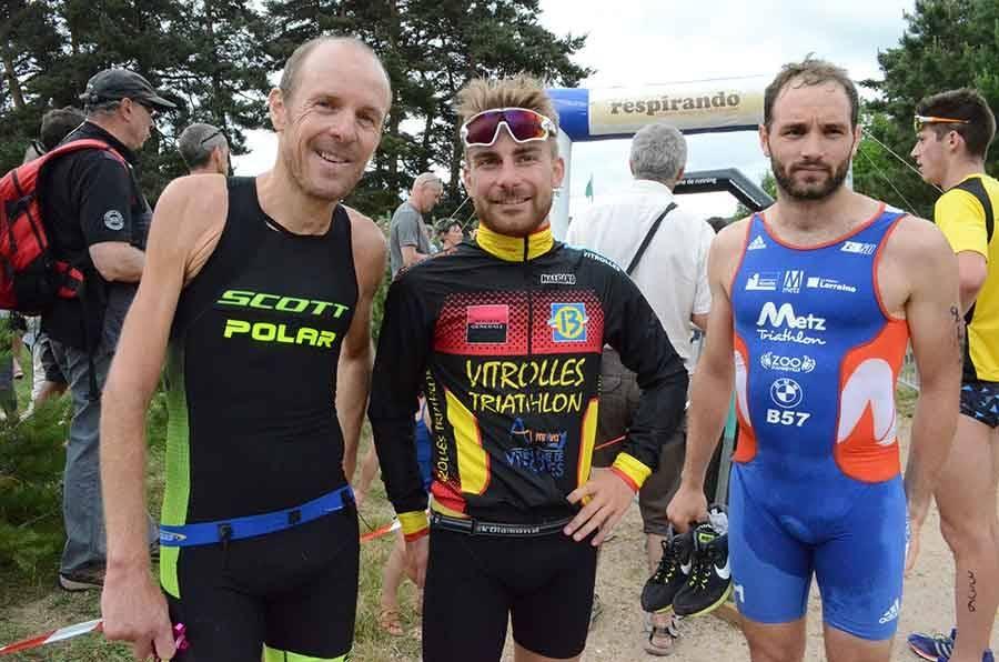 Le triathlon du barrage de Lavalette en images