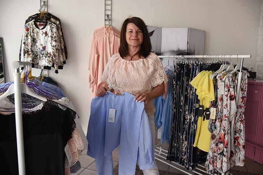 Une nouvelle boutique de prêt-à-porter féminin au centre de Monistrol